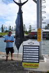ANGLER: Ian Killmore SPECIES: Blue Marlin WEIGHT: 174.50 Kg TACKLE: 24 Kg