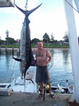 ANGLER: Peter Childs SPECIES: Striped Marlin WEIGHT: 80 Kg